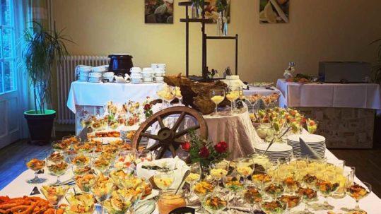Buffet im Restaurant Landhaus Hohenwestedt